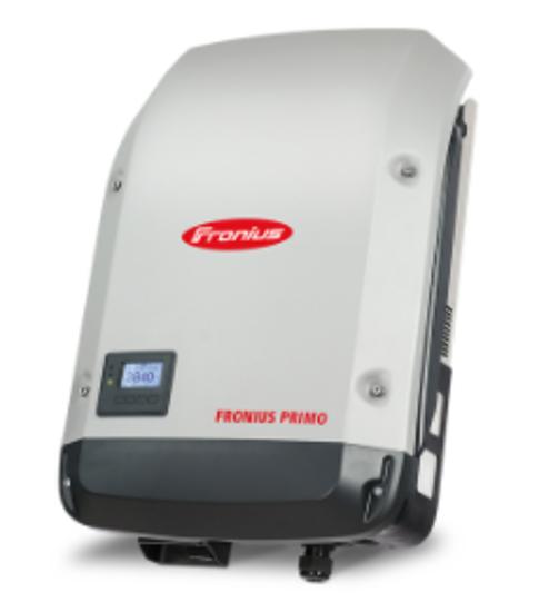 تصویر اینورتر 5 کیلووات تک فاز Fronius مدل Primo 5.0-1 Light