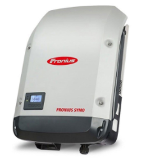 تصویر اینورتر 5 کیلووات سه فاز Fronius مدل Symo 5.0-3 M Light
