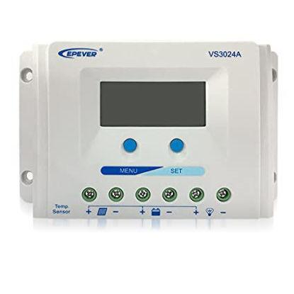 تصویر شارژکنترلر 30 آمپر Ep Solar مدل VS3024A